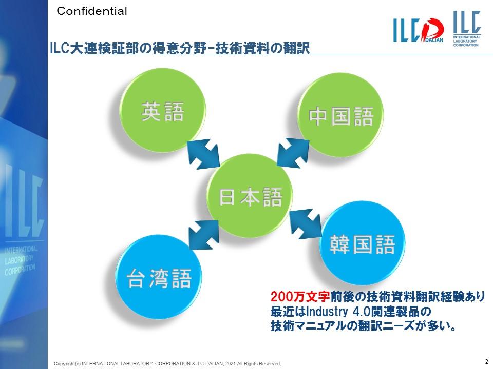 ILC大連検証部の得意分野-技術資料の翻訳